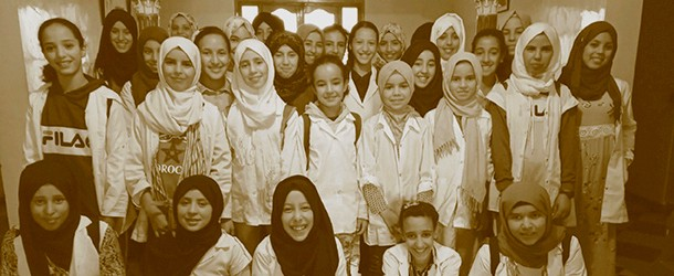 image for School enrolment of young girls in the Asni region in Morocco